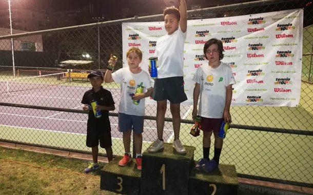En una final de infarto Minvielle gana el tenis 12