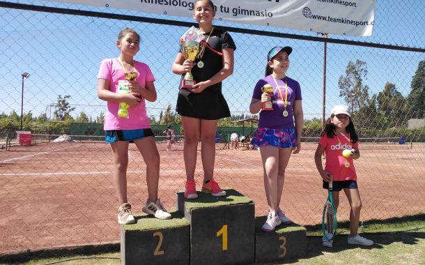 Hermana Muñoz definieron el cuadro femenino en el Tenis 10