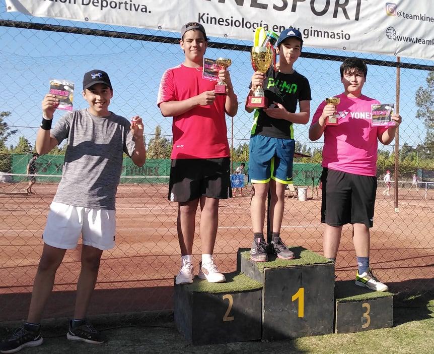 Matias Vicencio ganó la última etapa de los Sub 15 y quedó como líder