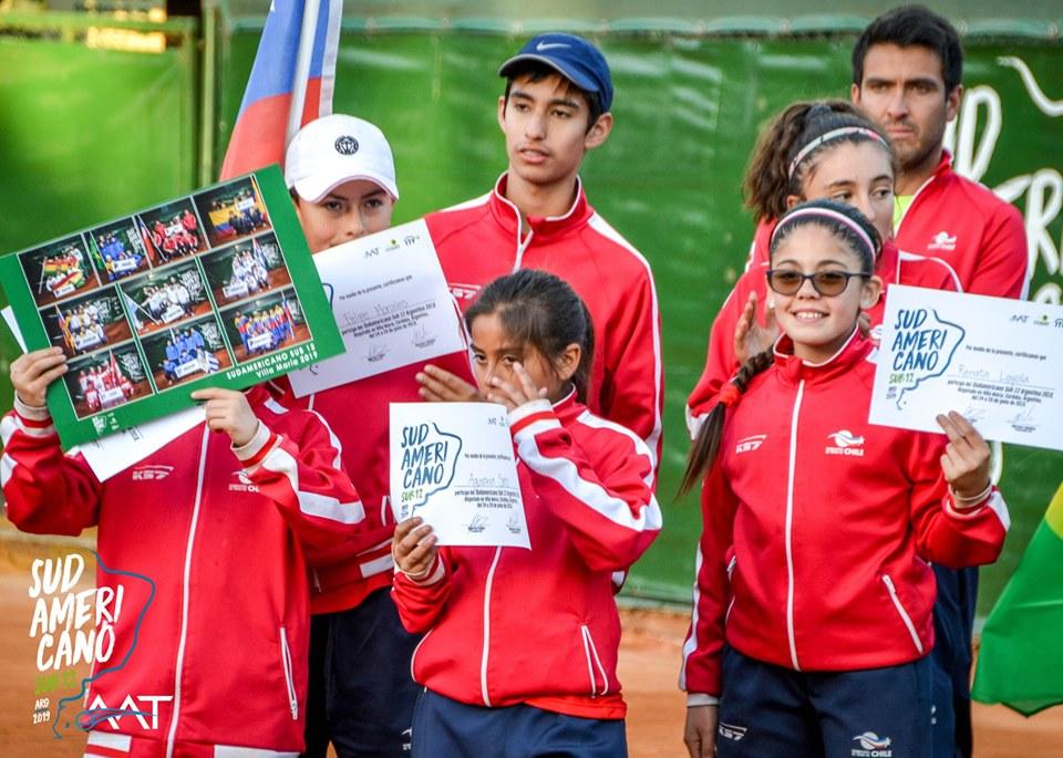 Chile finalizó su participación en el Sudamericano Sub 12 en Argentina