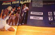 Copa Davis 1995, Argentina-Chile: SILBERSTEIN Y RÍOS CASI LOGRAN LA HAZAÑA