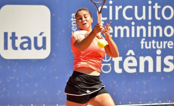 Gatica eliminada en singles y dobles de W25 en USA