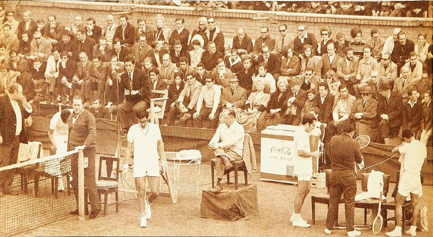 Copa Davis 1969, Chile-Ecuador: REVANCHA EN EL STADE FRANCAIS