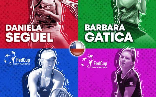 Un grupo complejo: Chile ya conoce a sus rivales en la Fed Cup