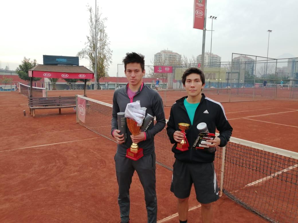 Muñoz y Caracci campeones en torneos RUN