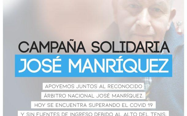 Campaña solidaria José Manríquez