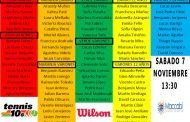 Estos son los 80 mejores de Chile en el Tenis 10 este año