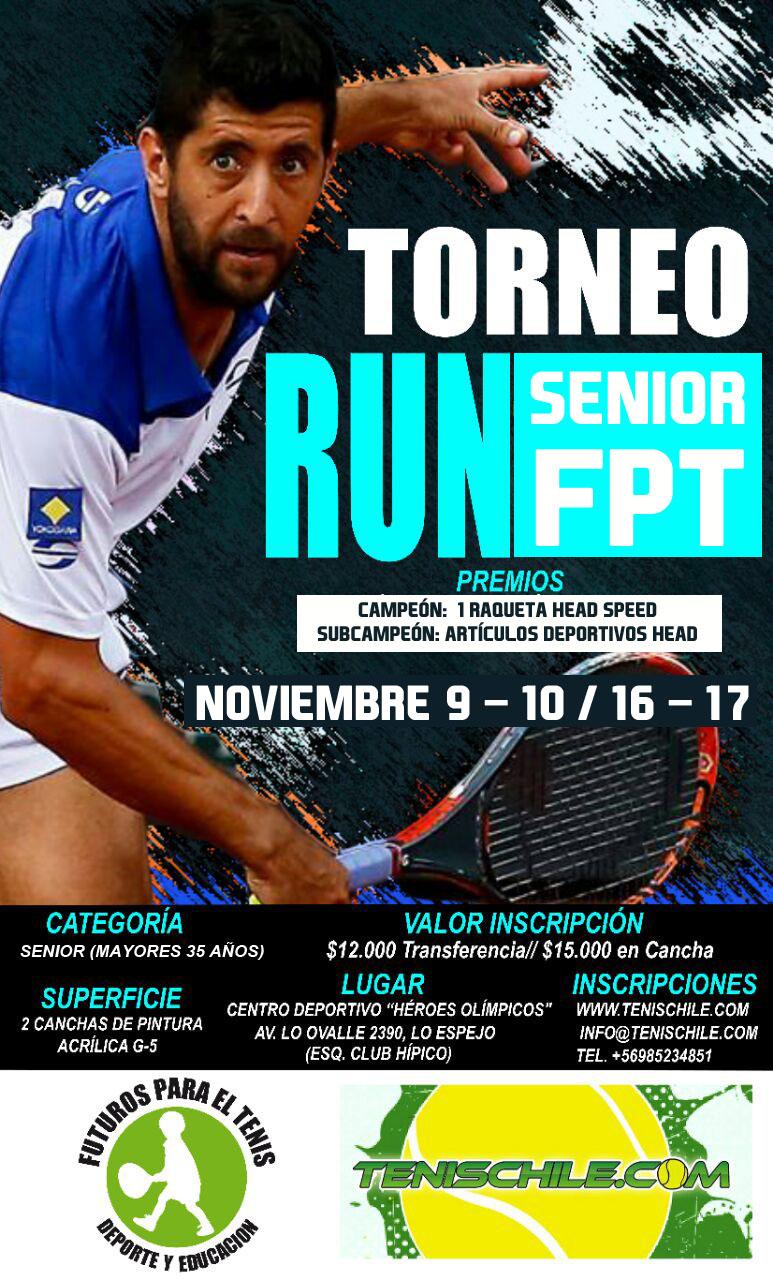 Torneo Senior este Sábado 9 en Lo Espejo
