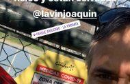 González se puso la camiseta y pide la vuelta al deporte