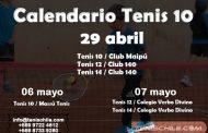 Calendario Tenis 10