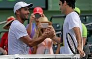 """Adrián Escarate: """"No podía creer que iba a poder jugar con Roger Federer, fue súper simpático conmigo, agradeciéndome por pelotear con él"""""""