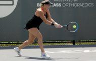 Guarachi quedó eliminada en tercera ronda de Australia Open