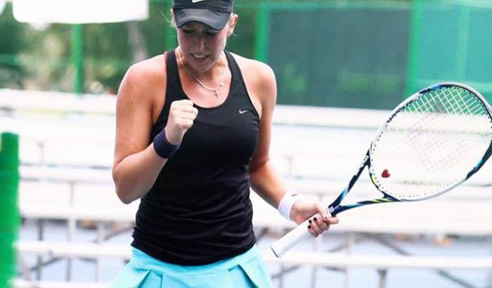 Un intratable Guarachi es campeona dobles y semifinalista singles en Pelham