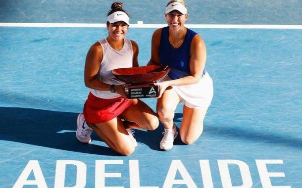 Guarachi es campeona en Adelaida y quedará en el mejor ranking de su carrera