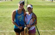 Alexa Guarachi avanzó en la qualy de dobles de Wimbledon