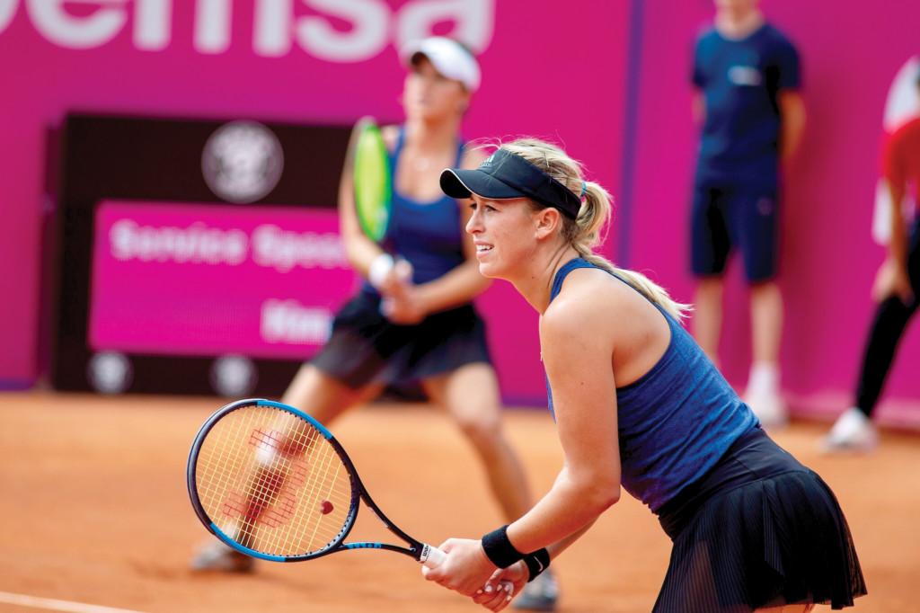 Alexa Guarachi tuvo un corto paso en el dobles de Roland Garros