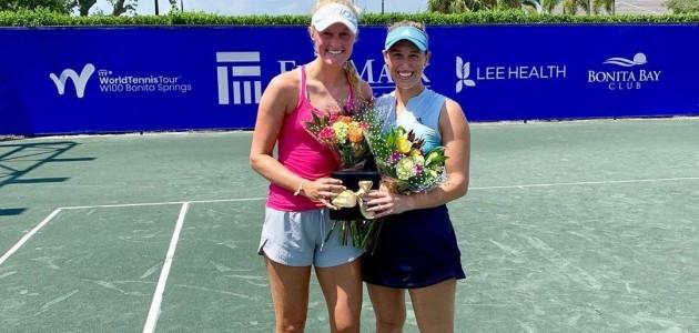 Alexa Guarachi integró la mejor dupla del FineMark Women's Pro Tennis Championship