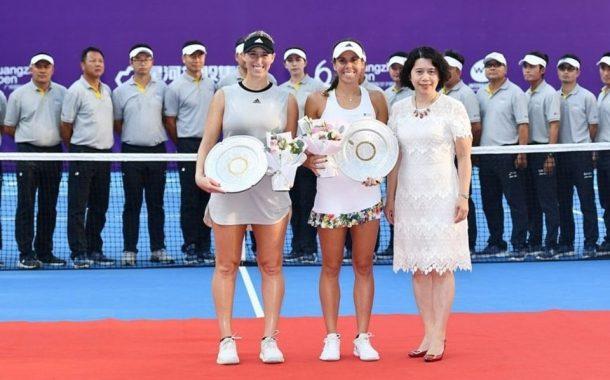 No olvidar, Guarachi también fue nominada por la WTA