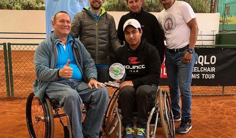 Alexander Cataldo se tituló campeón de singles y dobles en el Ecuador Open