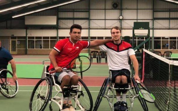 Alexander Cataldo se quedó con el vicecampeonato de dobles en torneo británico