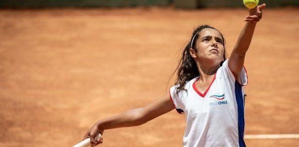 Antonia Vergara finalizó participación en el Orange Bowl entre las dieciséis mejores