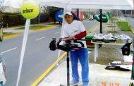 Toño Carreño y su historia en el tenis