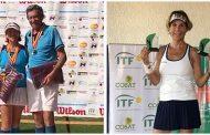 Compatriotas destacaron en dos frentes del circuito internacional seniors