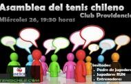 Asamblea del tenis chileno