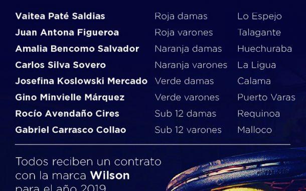 Wilson premió a los mejores jugadores del tenis 10
