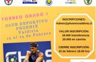 Torneo de menores en Valdivia