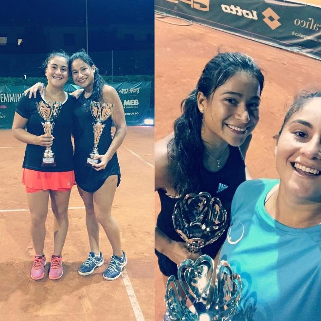 Hoy viernes dos chilenos se coronaron campeones de dobles en torneos por el mundo