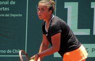 Barbara Gatica eliminada en Argentina, pero va por el dobles