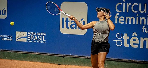 Barbara Gatica se metió en cuartos de final de torneo ecuatoriano