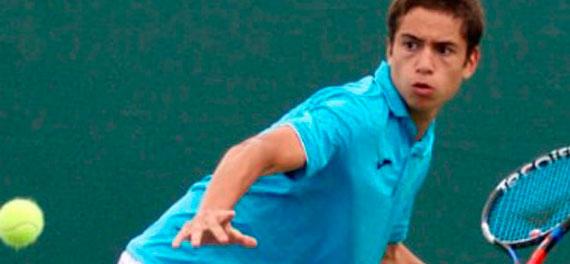 Dos compatriotas se abren camino en singles de la Rakiura Junior Cup