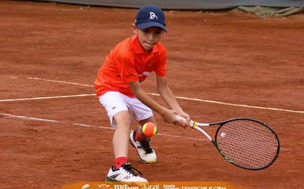 Más de 170 participantes en el Circuito Tenis 10-12-14