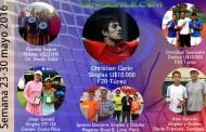 Campeones Chilenos semana del 23 al 30 de mayo