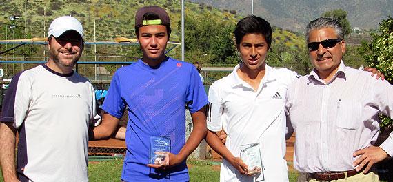 Dupla Defilippis-Carvajal fue la mejor de la Copa FTCh en 16 años
