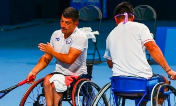 El tenis se queda sin chilenos en los Juegos Paralimpicos de Tokio 2020