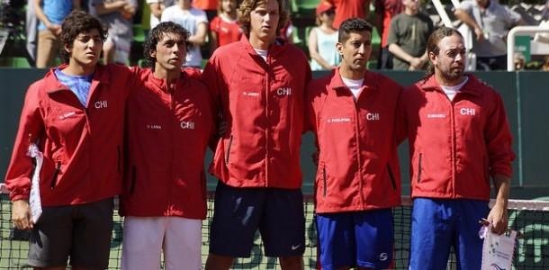 Carta del equipo chileno de la Copa Davis