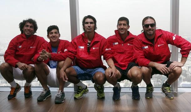 Chile jugará el repechaje de Copa Davis el año 2019