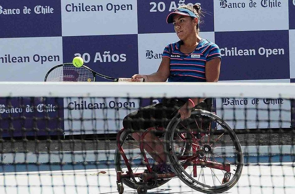Macarena Cabrillana y Alexander Cataldo se metieron en semifinales del Chile Open 2017