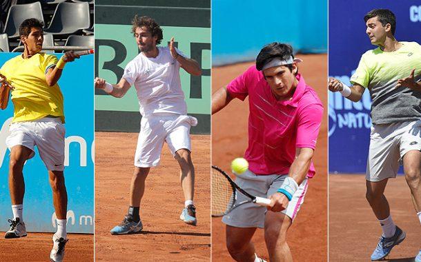 Quiénes son y en qué puesto están los tenistas chilenos que vienen detrás de Jarry y Garin