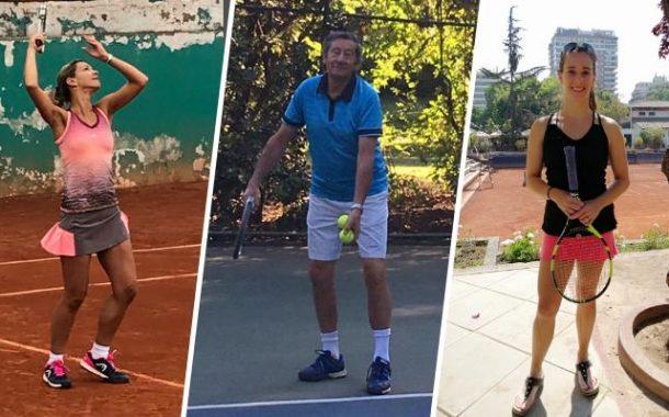 No sólo Leyla Musalem: Conoce a los otros ocho chilenos que están en el top ten mundial del tenis senior