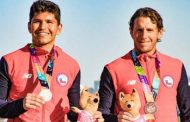 Con medalla de bronce en dobles masculino concluyó participación chilena en Rosario 2019