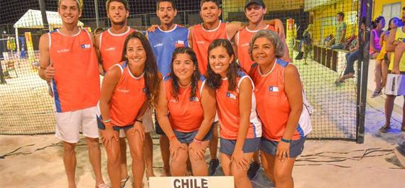 Equipo Nacional de Tenis Playa compitió en el Panamericano ITF de Aruba
