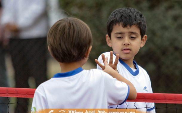 + de medio centenar de niños animarán la etapa 22 del Circuito Tenis 10 Wilson en la Católica