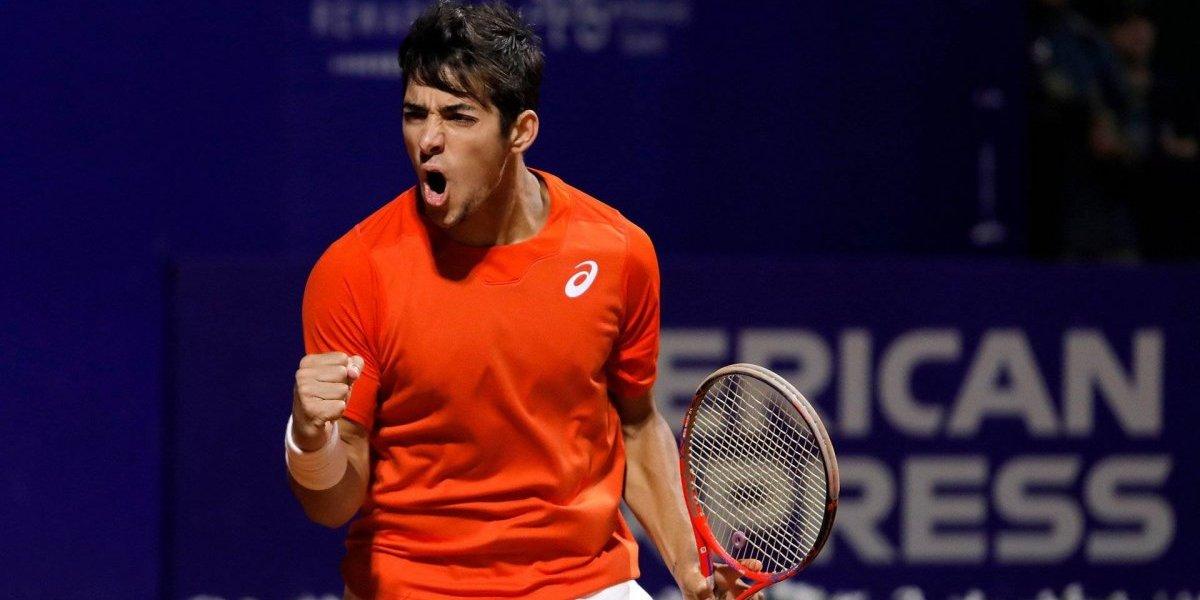 Christian Garín volvió a ganar en un torneo ATP después de seis años