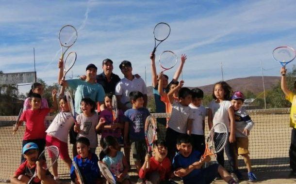 Combarbalá, desde la provincia del Limarí fabricando tenistas