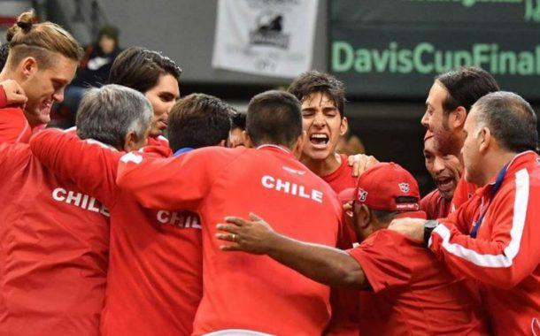 Chile jugará por Copa Davis la primera semana de Marzo