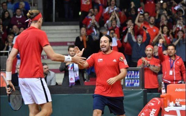 Chile quedó en el bombo 3 para el sorteo de Copa Davis 2019